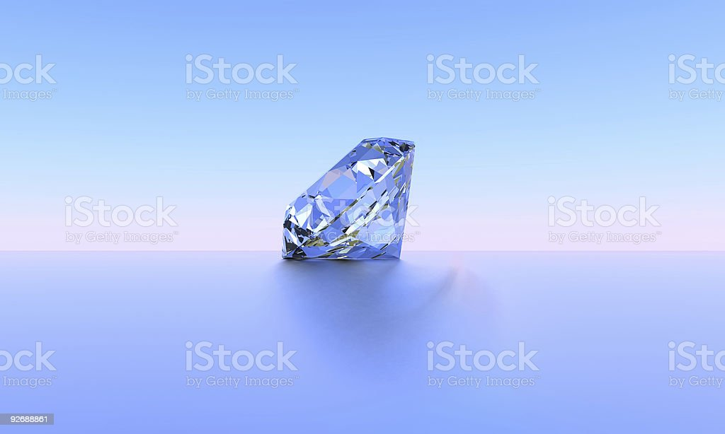 blue diamond stock photo