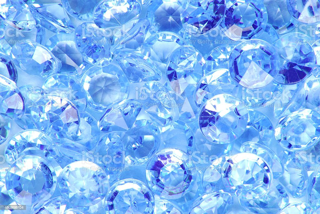 blue diamonds stock photo
