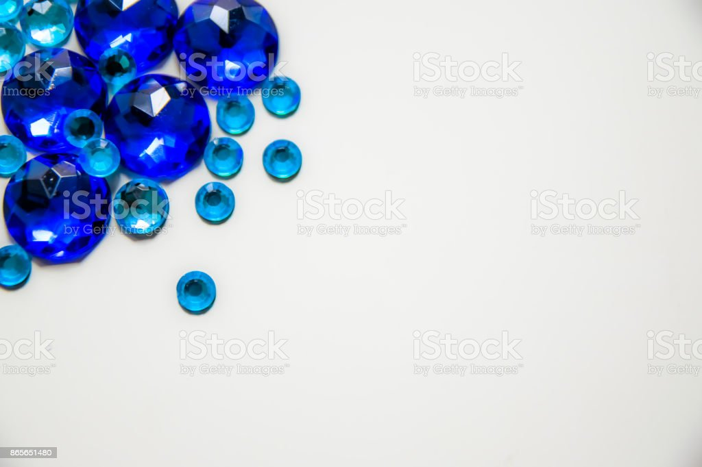Blue diamantes - foto de stock