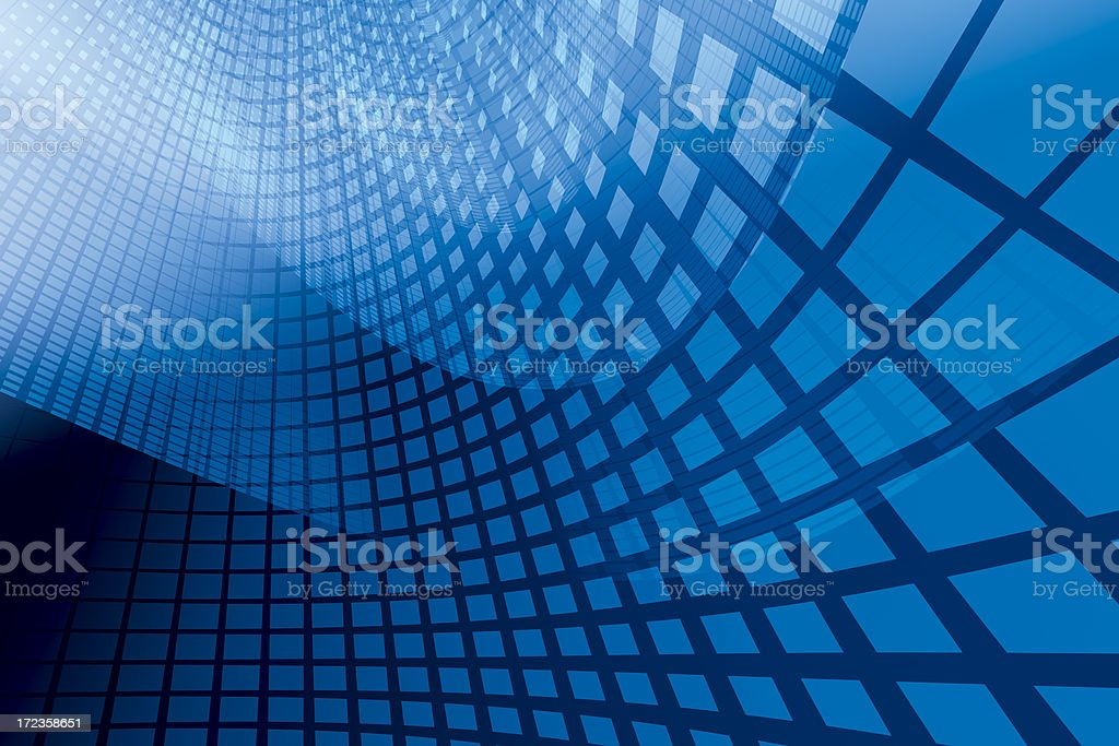 Blue Digital Background stock photo