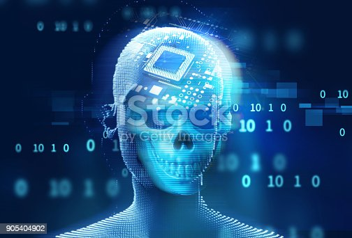 istock blue digital cyber skull and cpu  3d illustration 905404902