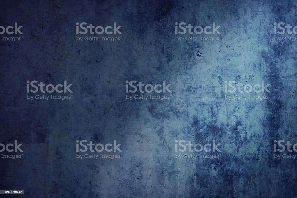 Blue dirty background royalty-free stock photo