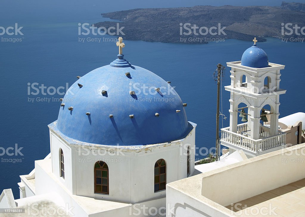 Blue dome royalty-free stock photo