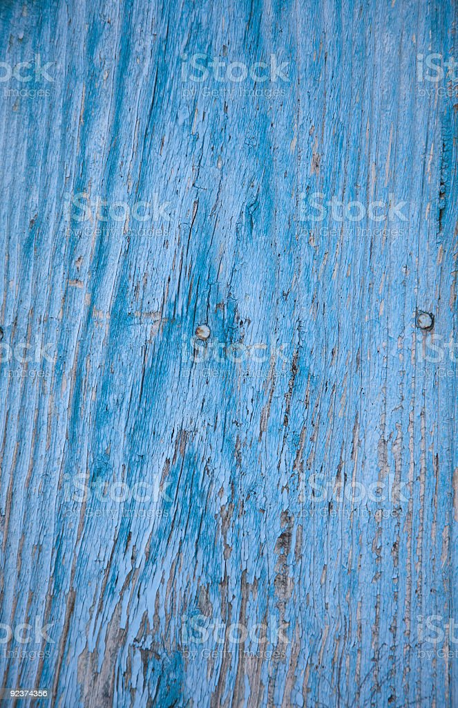 Blue Door abstract royalty-free stock photo
