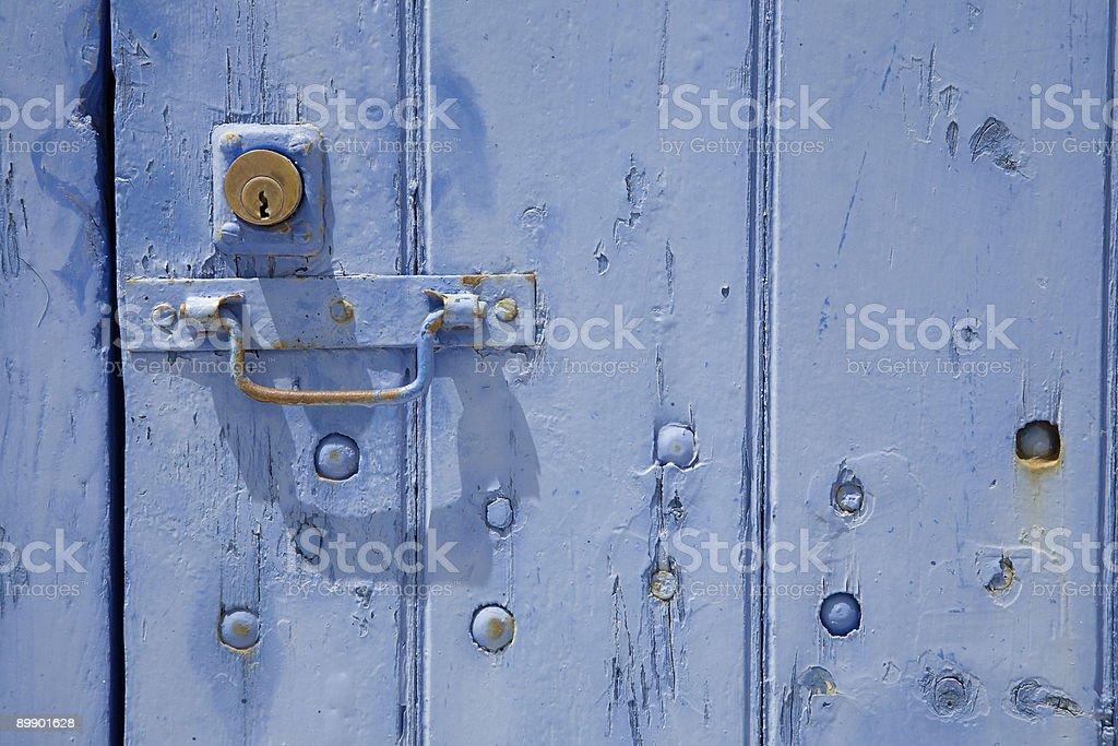 Blue Door Lizenzfreies stock-foto