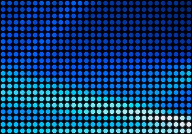 Blue Dot Matrix Hintergrund – Foto