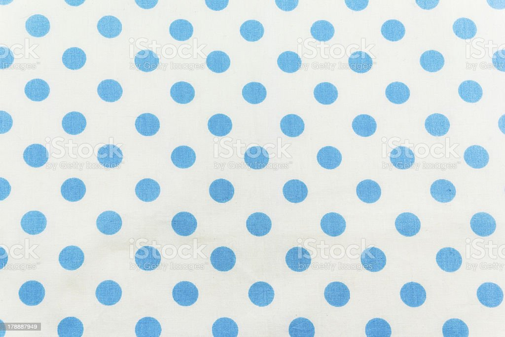 Blue dots on white royalty-free stock photo