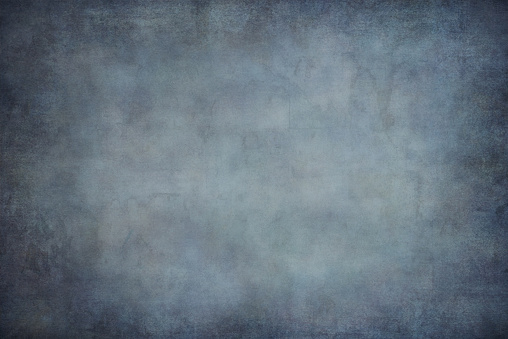 Blue dotted grunge texture, background