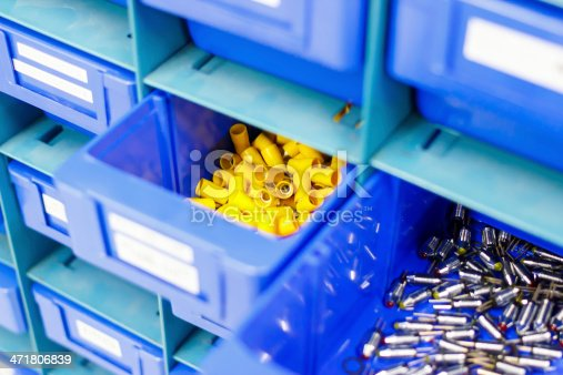 istock Blue drawer for keep equipment 471806839