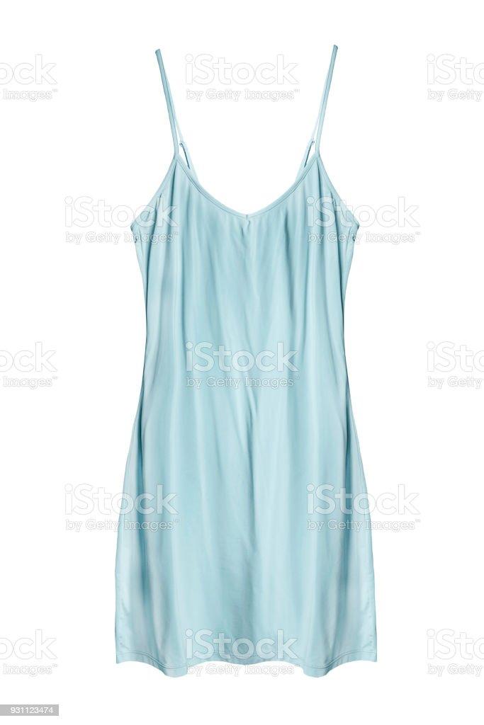 İzole mavi elbise - Royalty-free Alışveriş Stok görsel