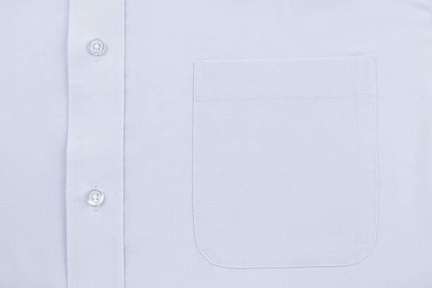 Vestido camisa azul bolso - foto de acervo