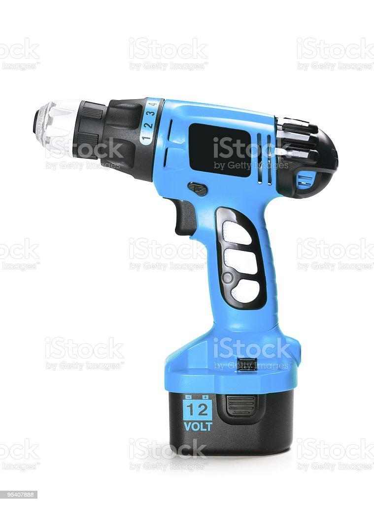 blue drill Lizenzfreies stock-foto