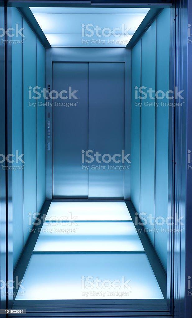 blue Aufzug – Foto