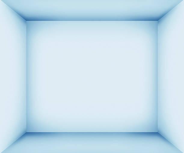 xxxl niebieski pusty pokój wnętrze - róg zdjęcia i obrazy z banku zdjęć