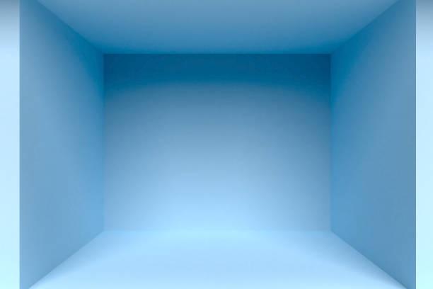 blue empty room interior stock photo - element projektu zdjęcia i obrazy z banku zdjęć