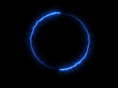 Blue energy circle