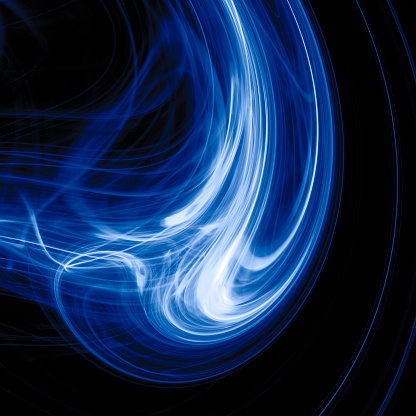 Blue Energy Stock Photo - Download Image Now