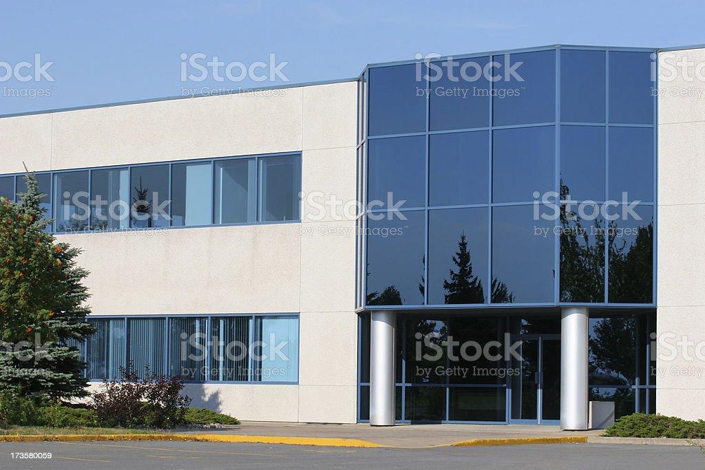 Blue Entrance royalty-free stock photo