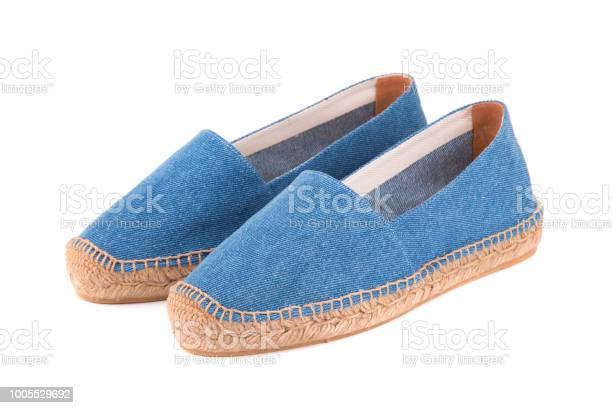 Blue espadrilles on white background picture id1005529692?b=1&k=6&m=1005529692&s=612x612&h=ogv7akflndssq4dpp11gd6gvvmn7bmc01bkowtbqd2g=