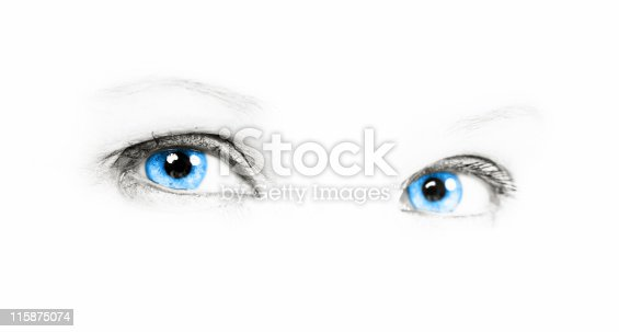 istock Blue Eye 115875074