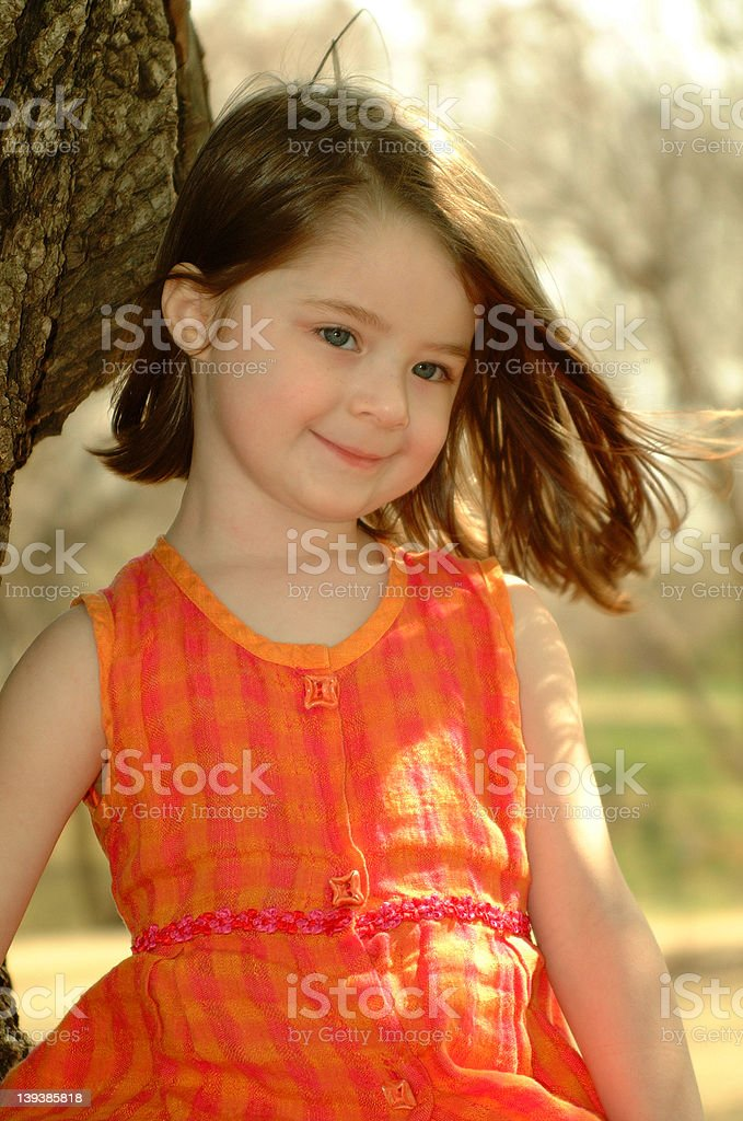 Blue Eyed Girl royalty-free stock photo