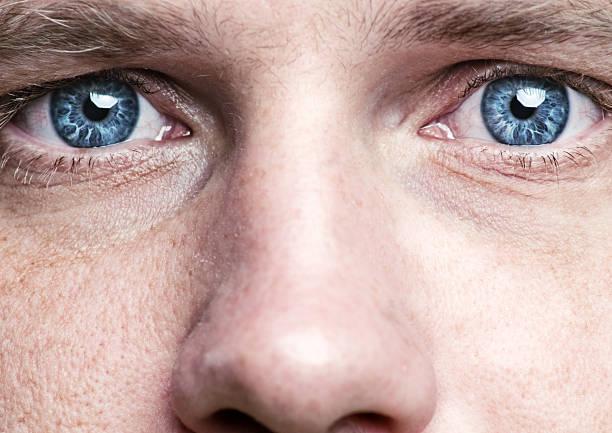 blue eyes - 大特寫 個照片及圖片檔