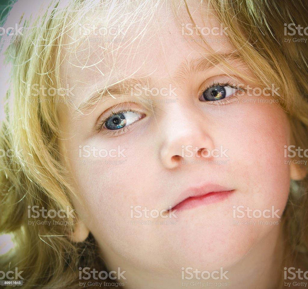 Ojos azules foto de stock libre de derechos