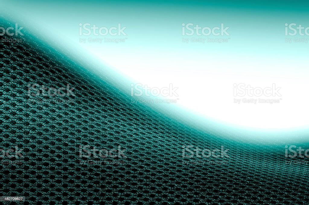 blue fabric mesh texture abstract background royalty-free stock photo