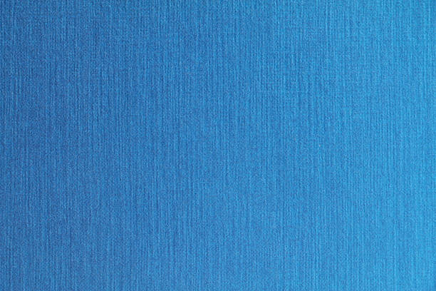 blue fabric paper texture background ストックフォト