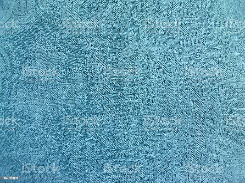 blue fabric royalty-free stock photo