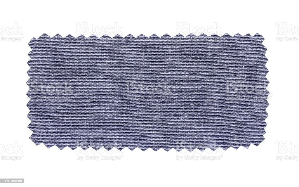 blue fabric swatch samples royalty-free stock photo