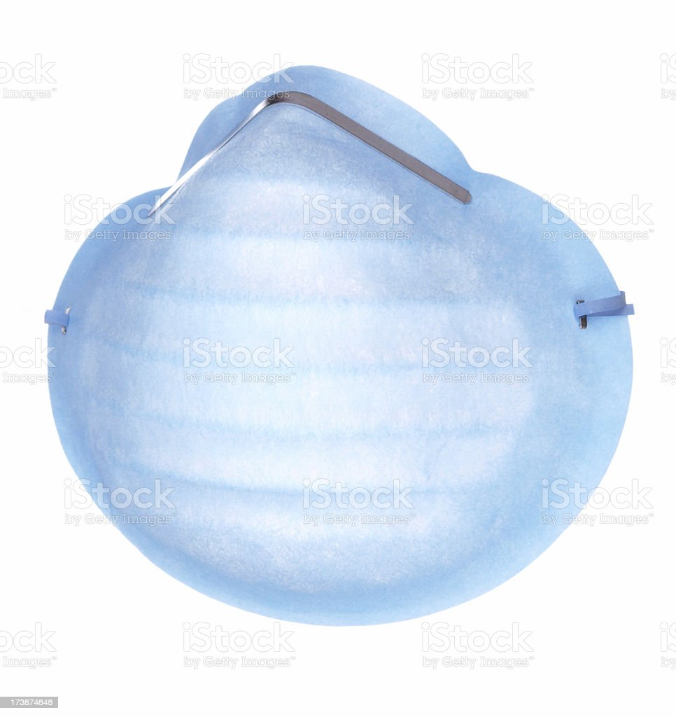 Blue Face Mask royalty-free stock photo