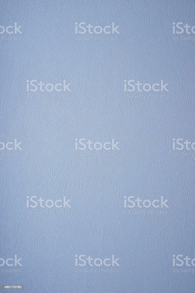 blue fake leather texture stock photo