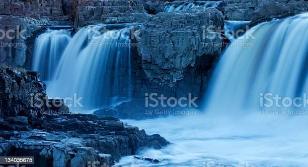 Photo of Blue Falling Water in South Dakota