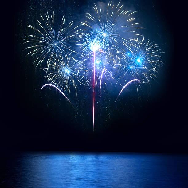 Blue das Feuerwerk – Foto