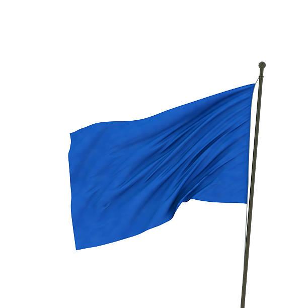 XXL bandera azul - foto de stock