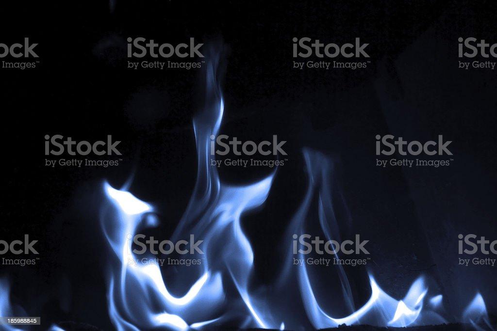 Blaue flame – Foto