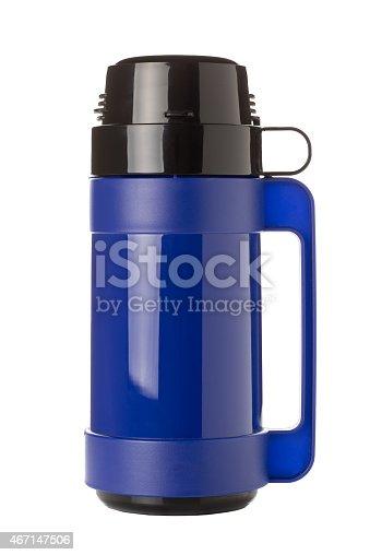 istock Blue Flask 467147506