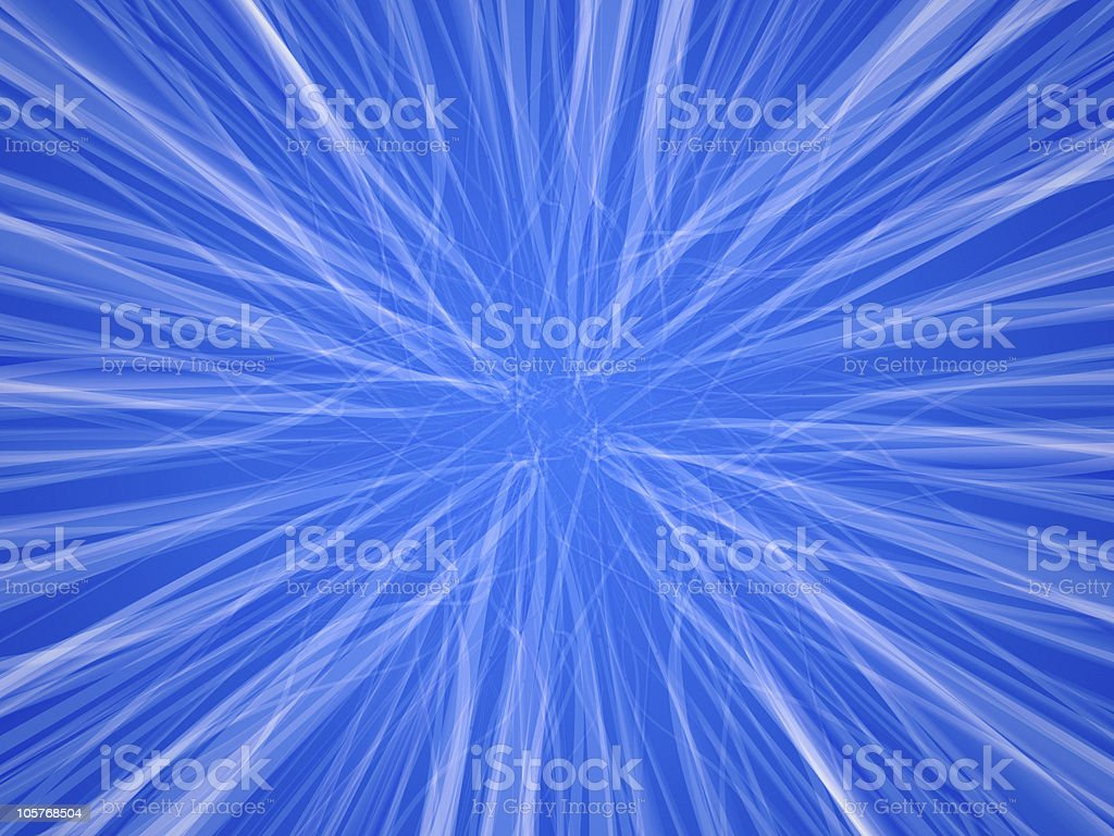 Blue fluffy infinity royalty-free stock photo