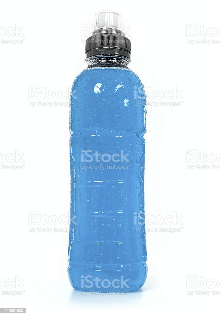 Blue fluid royalty-free stock photo
