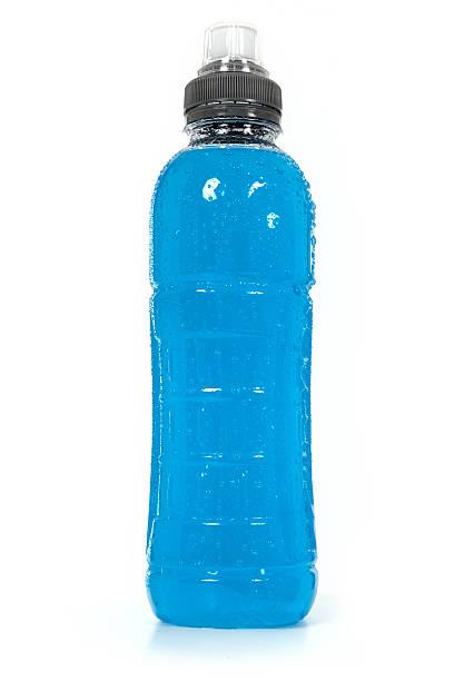 Blue fluid stock photo
