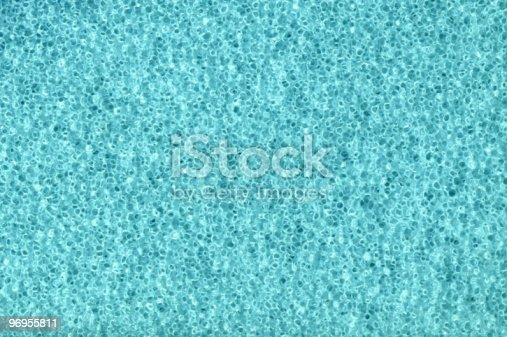 istock blue foam background 96955811