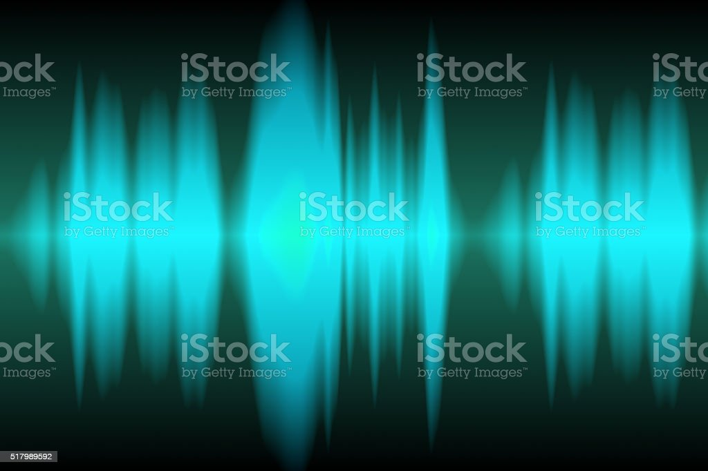 Blue Frequency stock photo