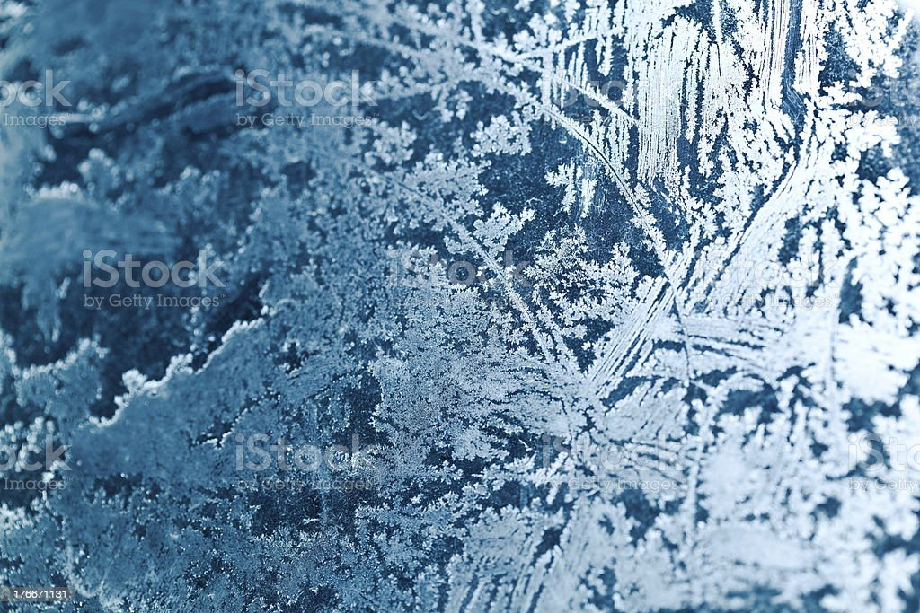 blue frost background royalty-free stock photo