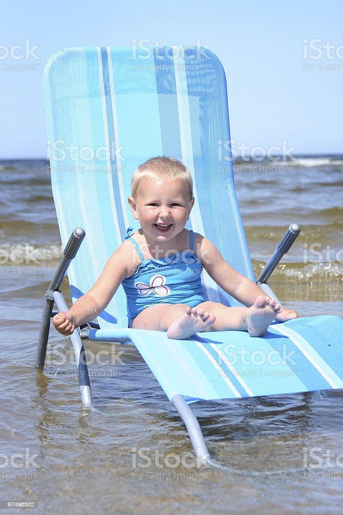 blue fun royalty-free stock photo