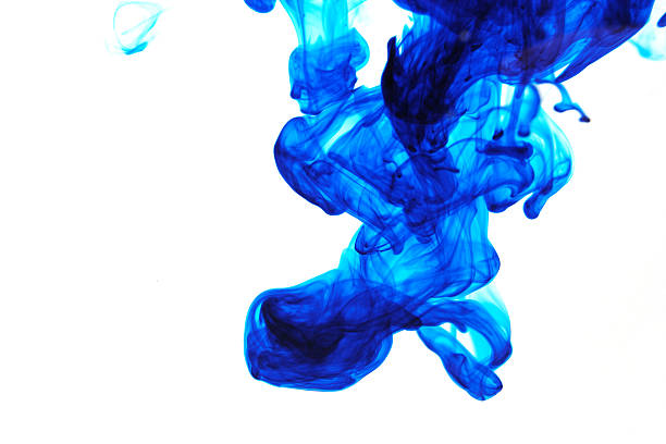 blue fusion two stock photo
