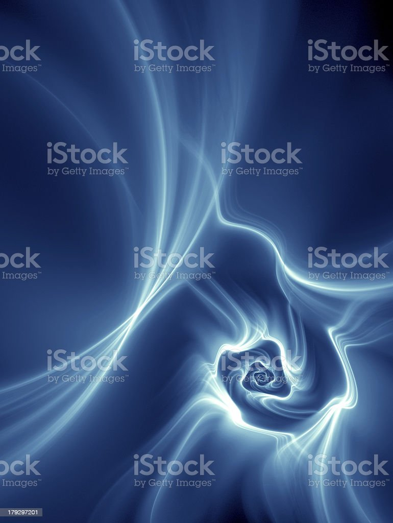 Blue Galaxy royalty-free stock photo