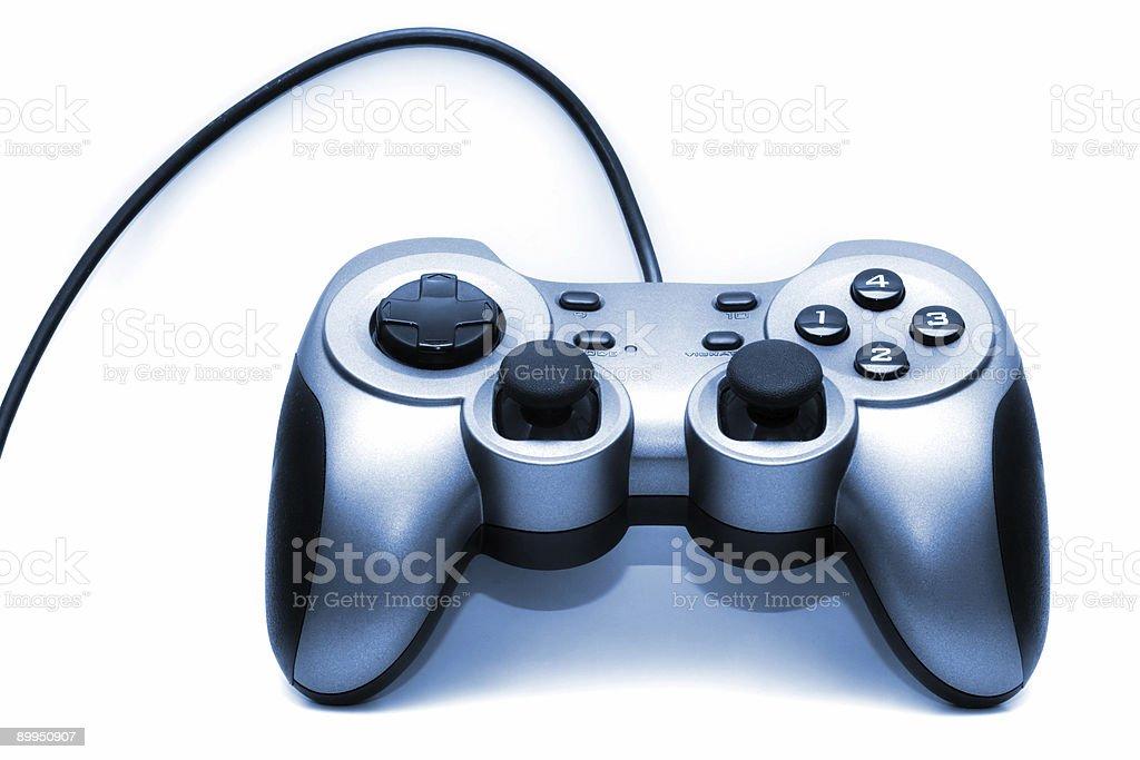 Blue Gamepad royalty-free stock photo