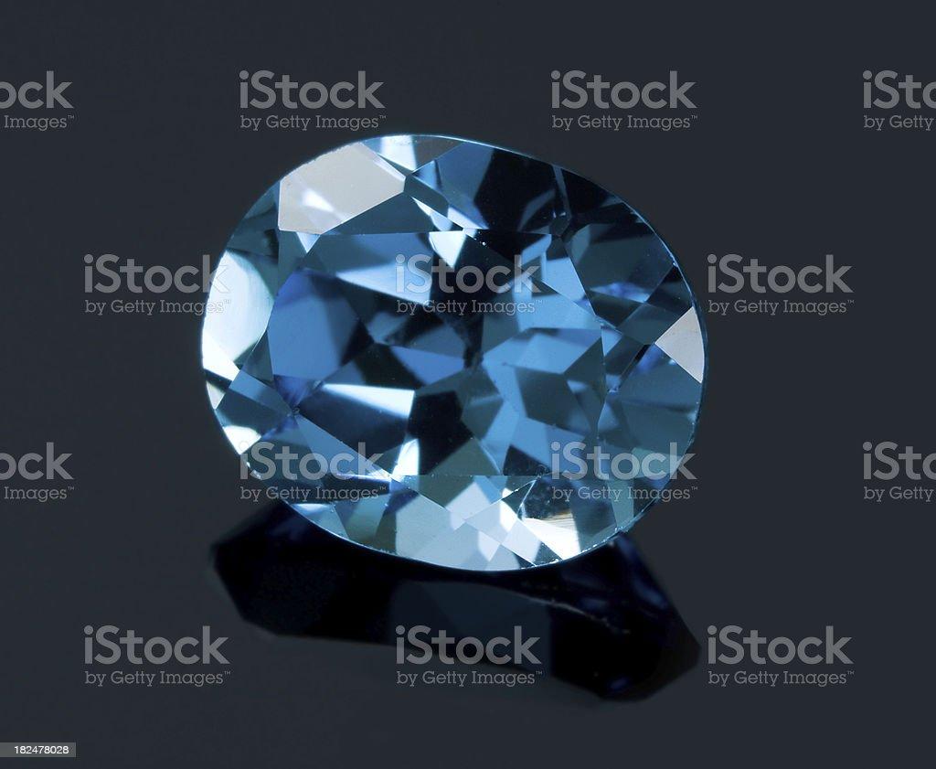 Blue Gem royalty-free stock photo