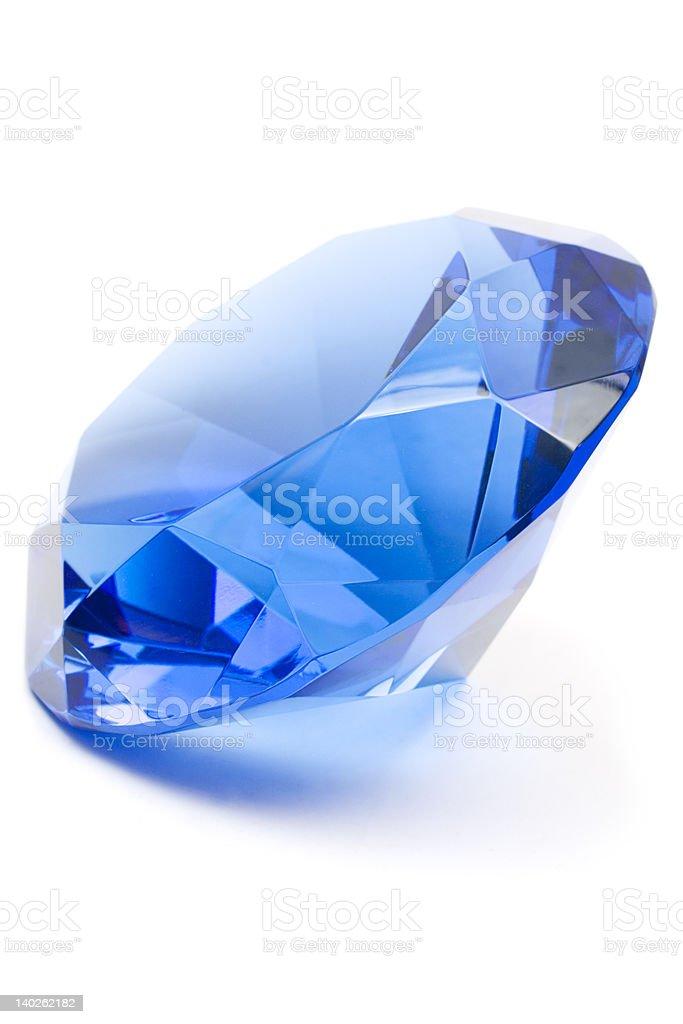 Blue Gemstone royalty-free stock photo